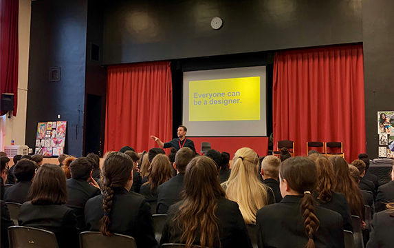 students urged to rise to design challenge